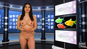 Сексапильные телеведущие раздеваются в прямом эфире